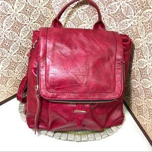 Women vegan leather Urban Expression backpack